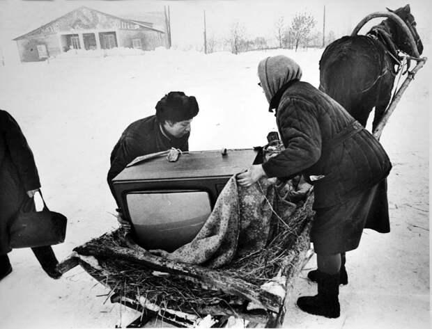 Нищая жизнь в советской провинции.