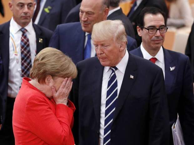 Американская пресса: Германия разрывается между Россией и США