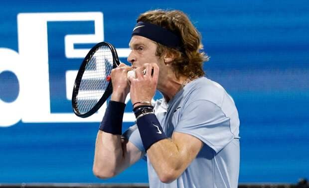 Рублев проиграл Сонего в четвертьфинале турнира в Риме
