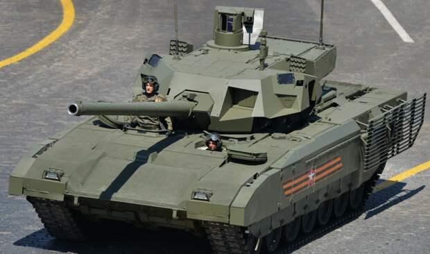 Российская армия получит на вооружение танки Т-14 «Армата» в 2022 году