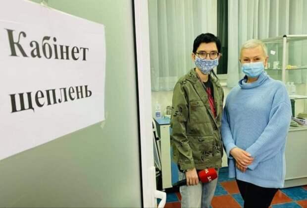 Алла Мазур сделала прививку от Ковид-19