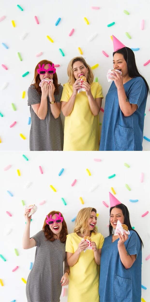 Пончиковая фотосессия или праздник (DIY)