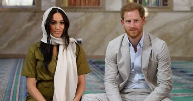 Netflix подписал эксклюзивный контракт с принцем Гарри и Меган Маркл