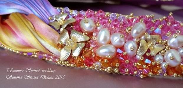 Волшебное ожерелье ручной работы