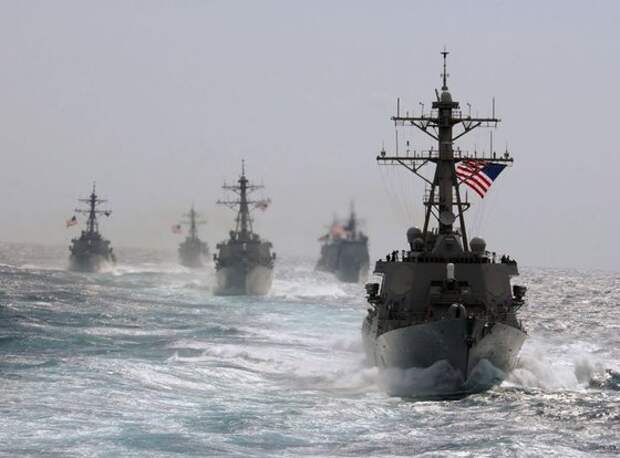 Армада кораблей НАТО взята на прицел у Крыма
