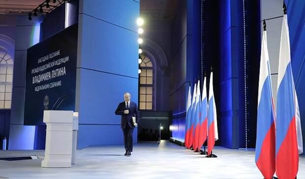 Политолог Галина Шешукова опослании Президента: «Сенсаций неслучилось!»