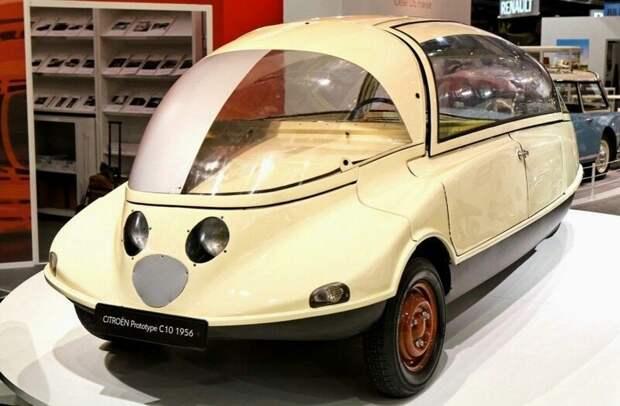 Опытный автомобиль С10 был создан для расширения модельного ряда фирмы Citroёn. 1956 год авто, автомобили, атодизайн, дизайн, интересный автомобили, олдтаймер, ретро авто, фургон