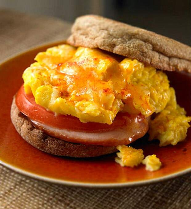 Сэндвич «деревенский» к завтраку