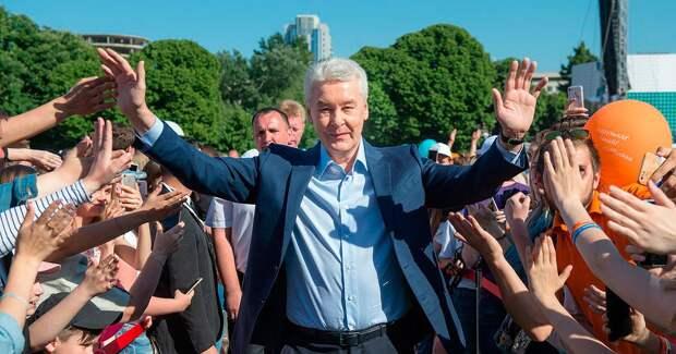 Мэр Сергей Собянин объявил набор стажеров в правительство Москвы