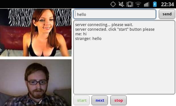 Поговорите с незнакомыми женщинами онлайн со всего мира в видеочате Camloo