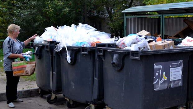 Глава Мытищ напомнил, что выбрасывать строительные отходы в бак около дома запрещено
