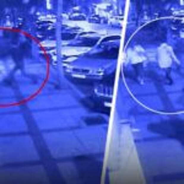 Опубликовано видео вооружённого нападения в Стамбуле на трех россиян