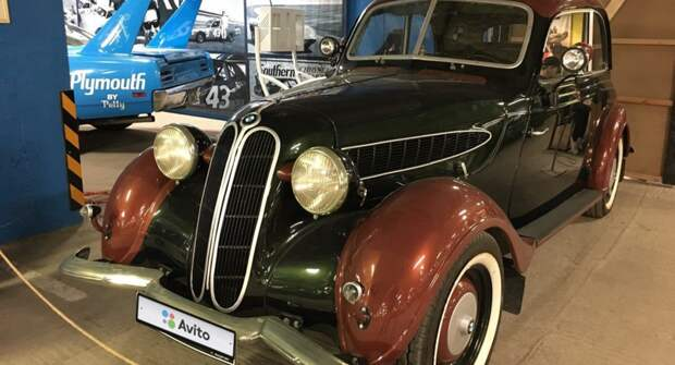 В России продают BMW 1937 года выпуска за 5,5 млн. руб