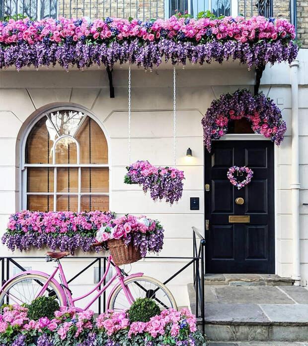 Почему парадные Лондона такие яркие?
