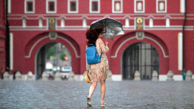 В Москве в пятницу ожидается до +16°С и сильный ветер