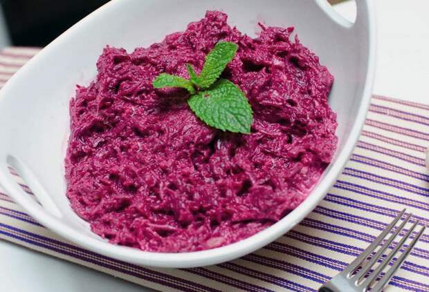 Рецепты вкусных и простых салатов из свеклы