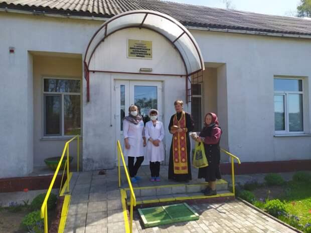 Священник посетил дом сестринского ухода в Любоничах.