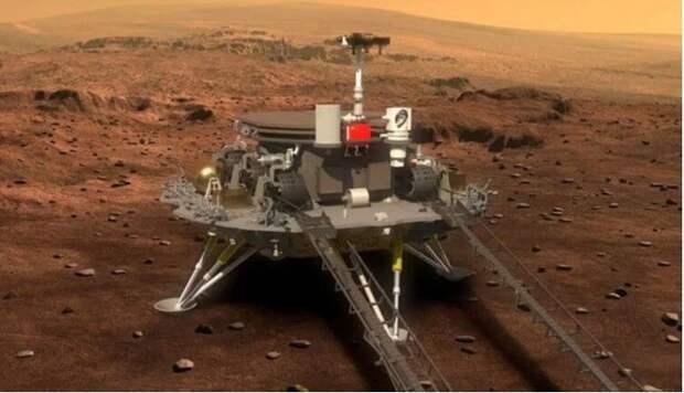 Теперь уже и китайцы высадили ровер на Марсе. Что они там ищут