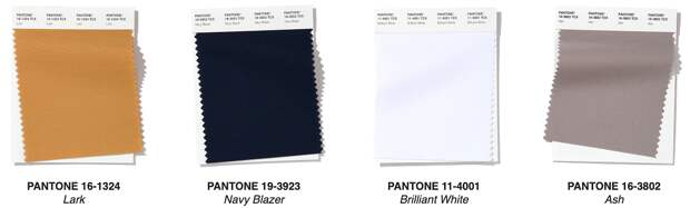 16 оттенков весны-2020 по версии Pantone