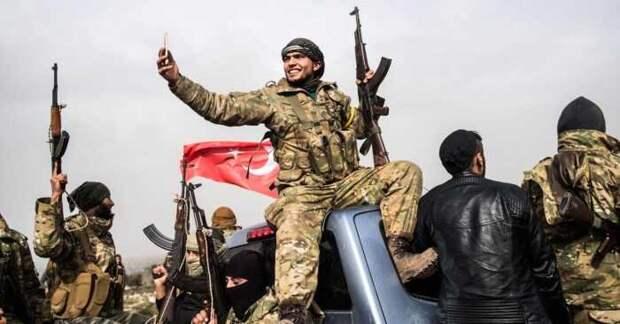 Российская авиация начала бомбить турецких военных в Идлибе