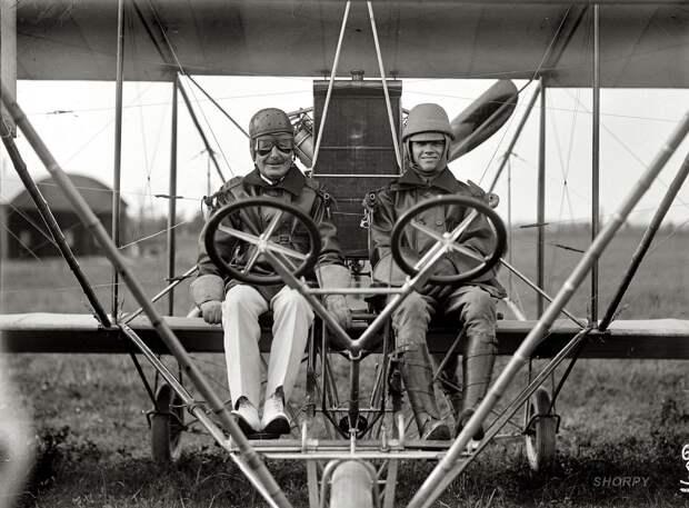 Самолеты и пилоты начала 20-го века на снимках американских фотографов (6)
