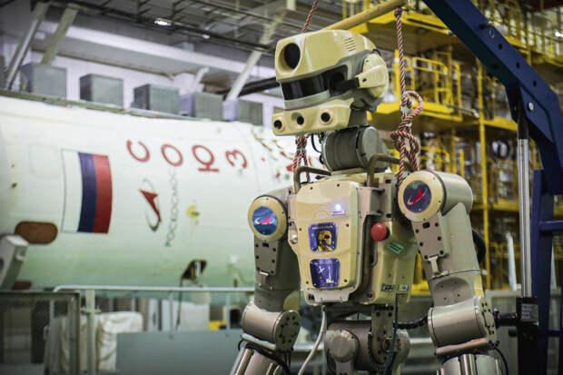 Twitter-аккаунт робота Фёдора удалили после оскорблений в адрес космонавтов