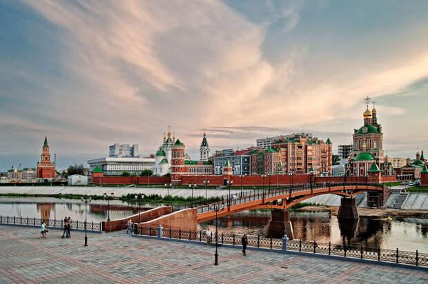 Йошкар-ола - фотопрогулка по городу