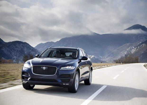 Экономия и сила: Jaguar F-Pace разжился новыми двигателями