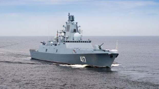 """""""Может отправить на дно весь флот США"""": Западные СМИ встревожились из-за фрегата России в Азовском море"""