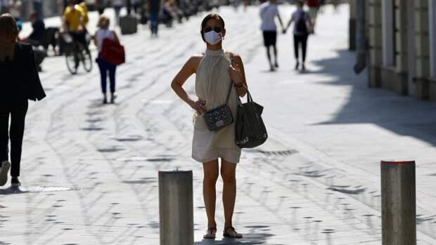 Москвичей предупредили о кратковременном дожде и потеплении