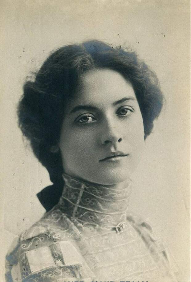 Актриса немого кино 1900-х Мод Фили