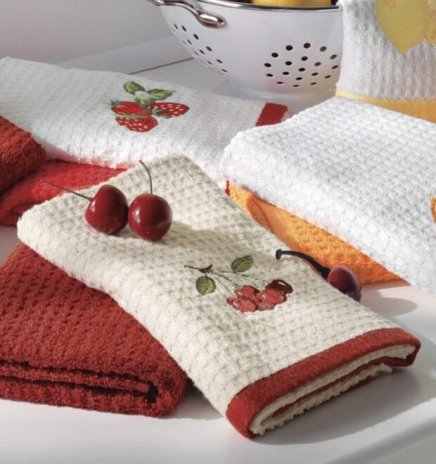 Фото из свободного источника интернета Кухонные полотенца