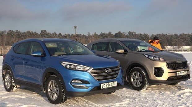 Kia Sportage и Hyundai Tucson: тест с переодеванием
