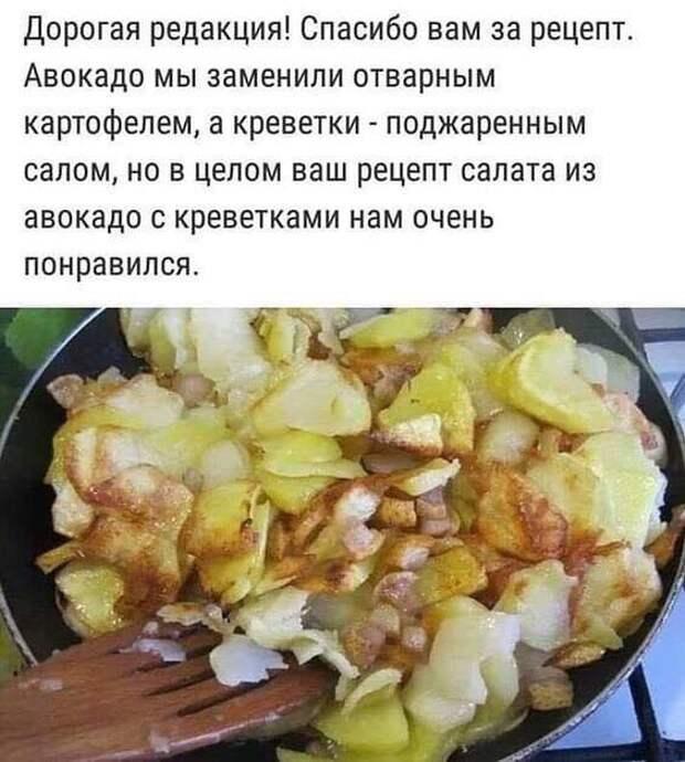 Жена забила морозилку до отказа мясом, курицей, какими-то котлетами и уехала на две недели...