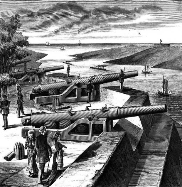 Артиллерийские новации гражданской войны между Севером и Югом