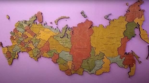 В России готовятся объединить восемь регионов