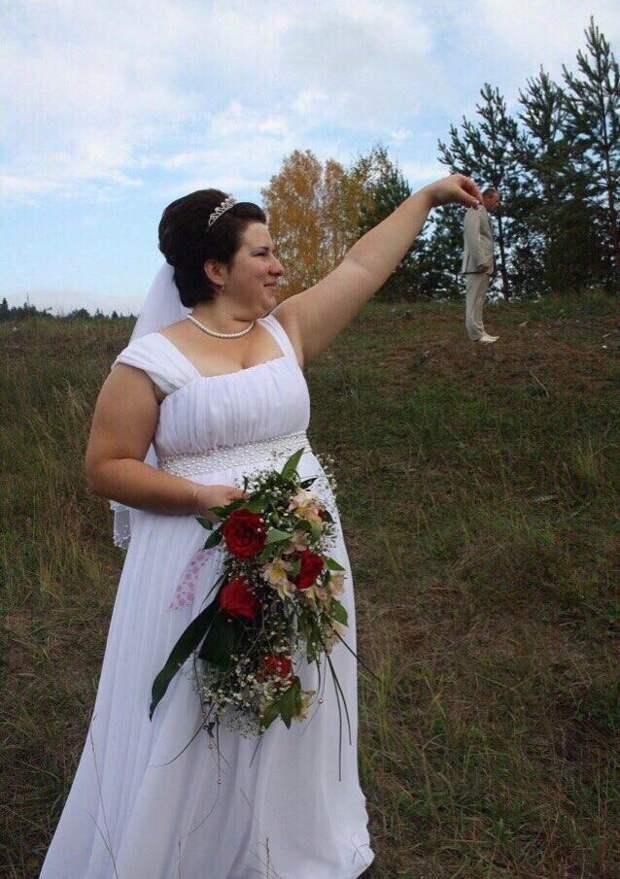 Попался! гопота, деревня, прикол, свадьба, село, фотограф, фотошоп, юмор