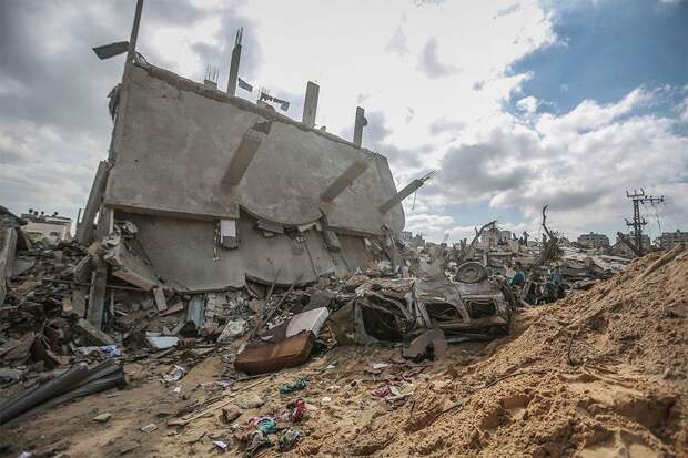 Израиль нанес удар по зданию службы внутренней безопасности ХАМАС