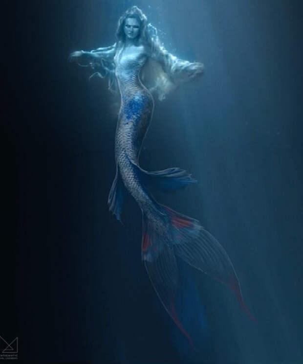 Страшно красива: Бехати Принслов снялась в образе русалки в новом клипе Maroon 5