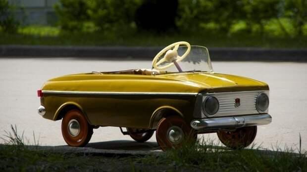 Конь педальный СССР, детские автомобили