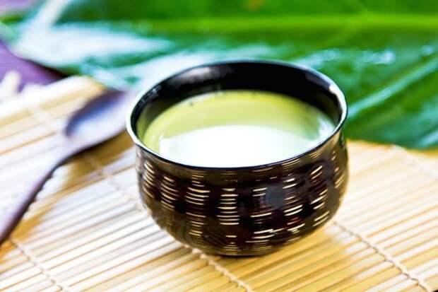 Что такое зеленый чай с молоком?