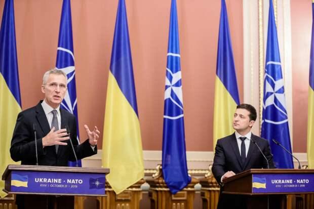 Зеленский гонится за НАТО, а НАТО в ужасе бежит