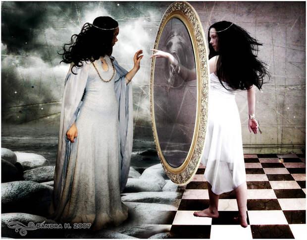 Зеркала - великие обманщики
