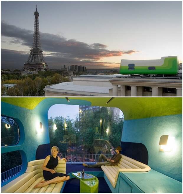 Эксклюзивный Hotel Everland обеспечит посетителей фантастическим обзором и абсолютным уединением.   Фото: travel.spotcoolstuff.com/ uniqhotels.com.