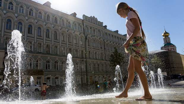 Жителей центральной части России ждет жара с 18 мая