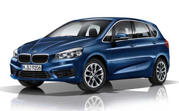 BMW 2-й серии Active Tourer: объявлены рублевые цены