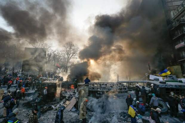 Доклад марионеток: Украина идёт ко дну — угадайте, по чьей вине?