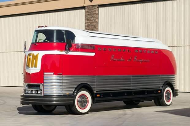GM Futurliner автобус, автодизайн, дизайн