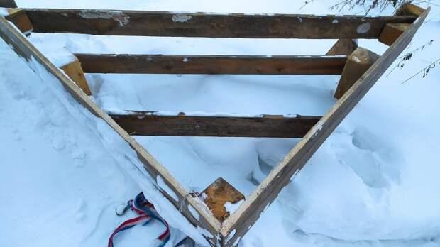 Как бесплатно и легко расчистить дорогу от снега. Делаем сами снегоотвал для автомобиля.
