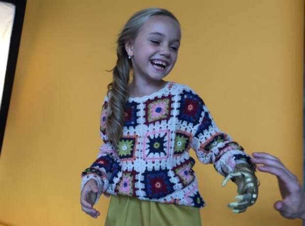 Слава науке - дети, которые приобрели новые возможности дети, доброта, интересное, милота, наука, протезы